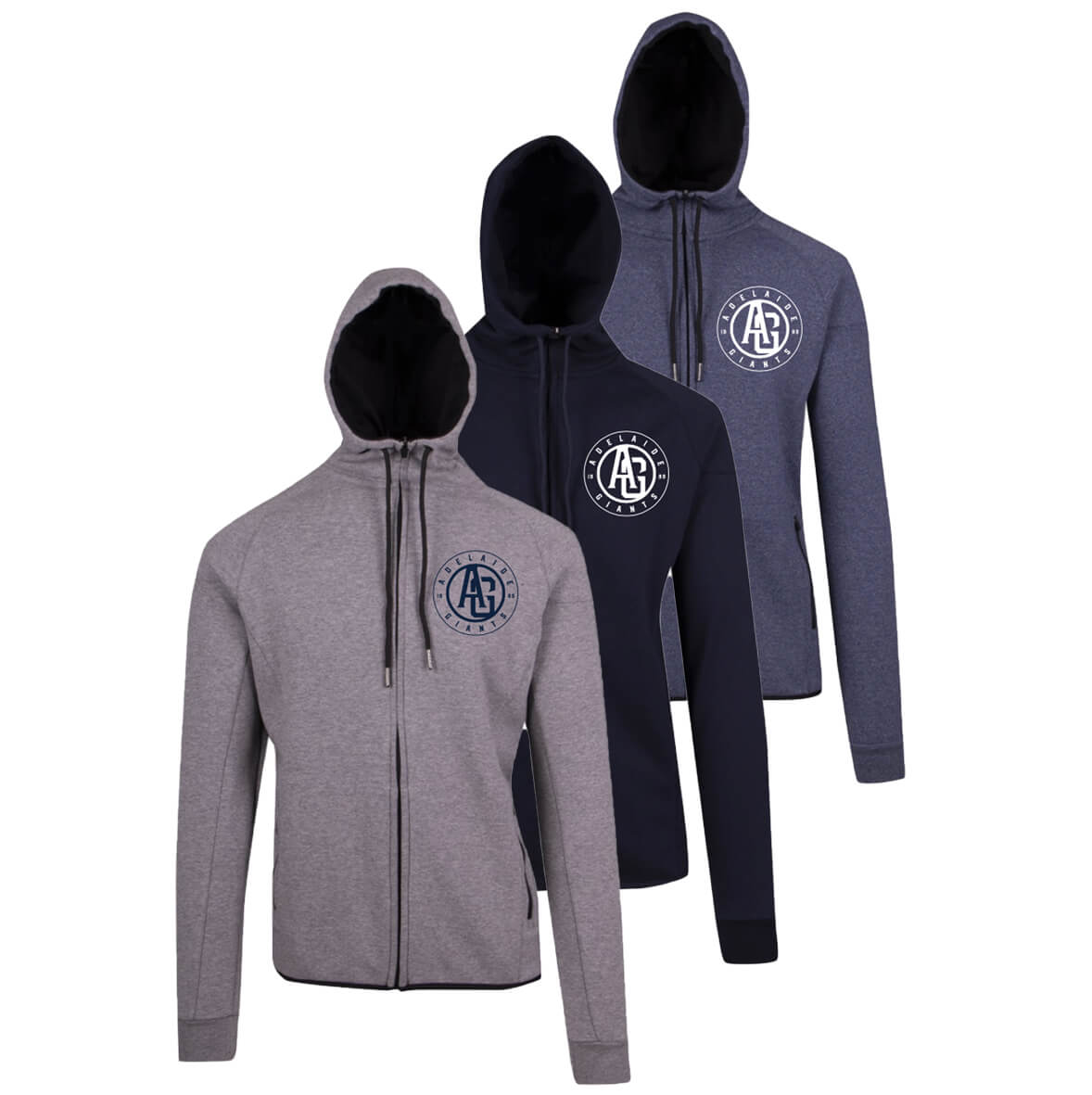 Hoodie Mens Soft Polar - Circle Logo